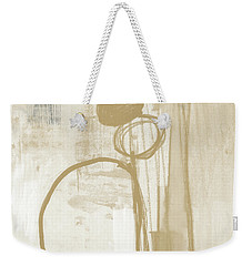 Sand And Stone 2- Contemporary Abstract Art By Linda Woods Weekender Tote Bag