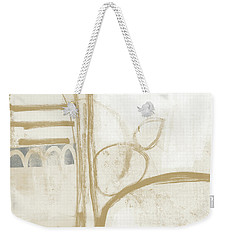 Sand And Stone 3- Contemporary Abstract Art By Linda Woods Weekender Tote Bag