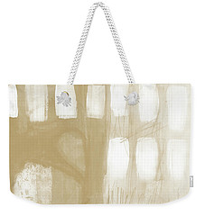 Sand And Stone 4- Contemporary Abstract Art By Linda Woods Weekender Tote Bag