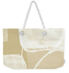 Sand And Stone 5- Contemporary Abstract Art By Linda Woods Weekender Tote Bag