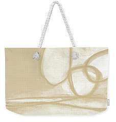 Sand And Stone 6- Contemporary Abstract Art By Linda Woods Weekender Tote Bag