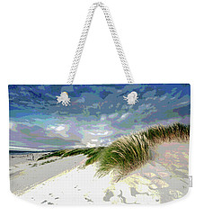 Sand And Surfing Weekender Tote Bag by Charles Shoup