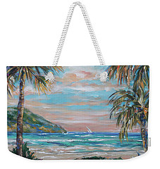 Sand Bank Bay Weekender Tote Bag