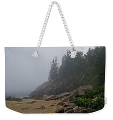 Sand Beach In A Fog Weekender Tote Bag