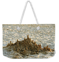 Sand Castle Weekender Tote Bag
