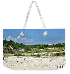 Sand Dune In Cape Henlopen State Park - Delaware Weekender Tote Bag by Brendan Reals