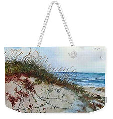 Sand Dunes And Sea Oats Weekender Tote Bag