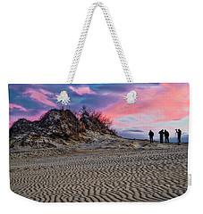 Sand Dunes Of Kitty Hawk Weekender Tote Bag