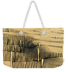 Sand Dunes Of The Outer Banks Weekender Tote Bag