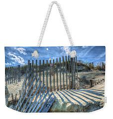 Sand Fence Weekender Tote Bag