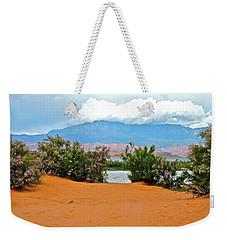 Sand Hallow Reservoir Weekender Tote Bag