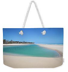 Sand Island Paradise Weekender Tote Bag