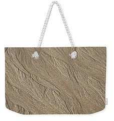 Weekender Tote Bag featuring the photograph Sand Patterns by Living Color Photography Lorraine Lynch