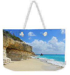Sand Sea And Sky Weekender Tote Bag by Expressionistart studio Priscilla Batzell