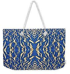 Sand Shadow Matrix Weekender Tote Bag