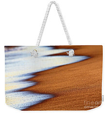 Sand And Waves Weekender Tote Bag