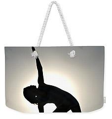 Sand Yoga Weekender Tote Bag