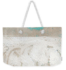 Sandcastles- Abstract Painting Weekender Tote Bag