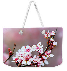 Sandcherry Blossoms Weekender Tote Bag