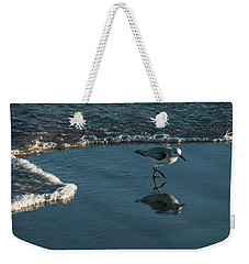 Sanderling Reflection Delray Beach Florida Weekender Tote Bag