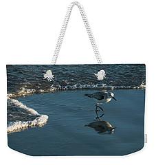 Sanderling Reflection Delray Beach Florida Weekender Tote Bag
