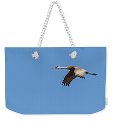 Sandhill Crane 2017-1 Weekender Tote Bag by Thomas Young