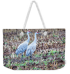 Sandhills In Their Fall Coat Weekender Tote Bag by Ricky L Jones