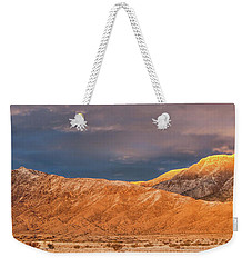Sandia Crest Stormy Sunset 2 Weekender Tote Bag