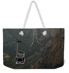 Sandia Peak Cable Car Weekender Tote Bag by Joe Kozlowski