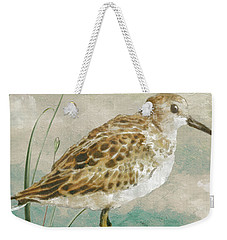 Sandpiper I Weekender Tote Bag by Mindy Sommers
