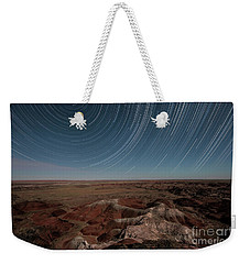 Weekender Tote Bag featuring the photograph Sands Of Time by Melany Sarafis