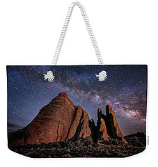 Sandstone And Milky Way Weekender Tote Bag