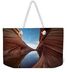 Sandstone And Sky Weekender Tote Bag