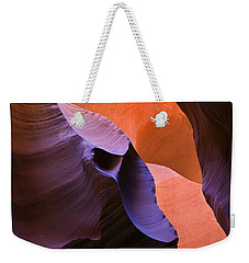 Sandstone Apparition Weekender Tote Bag by Mike  Dawson