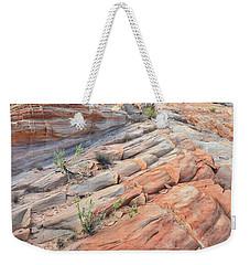 Sandstone Crest In Valley Of Fire Weekender Tote Bag