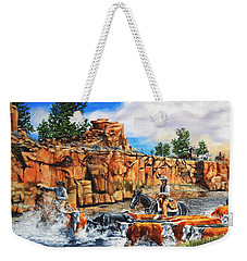 Sandstone Crossing Weekender Tote Bag