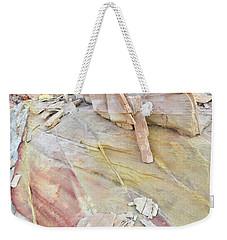Sandstone Rainbow In Valley Of Fire Weekender Tote Bag