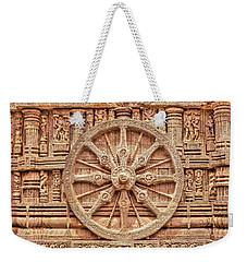 Sandstone Wheel - Hdr Weekender Tote Bag