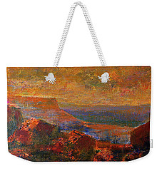 Sandstorm Over The Canyon Weekender Tote Bag