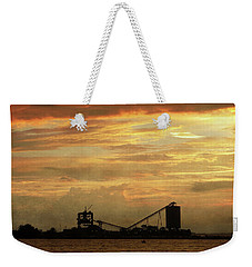 Sandusky Coal Dock Sunset Weekender Tote Bag