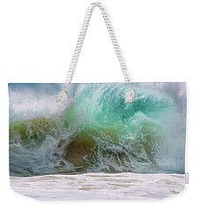 Sandy Beach Surf Weekender Tote Bag