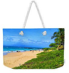 Weekender Tote Bag featuring the photograph Sandy Beaches Of Maui by Michael Rucker