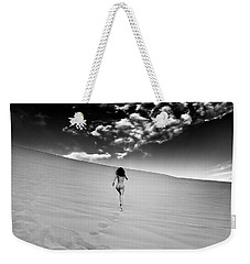 Sandy Dune Nude - Catching The Clouds Weekender Tote Bag