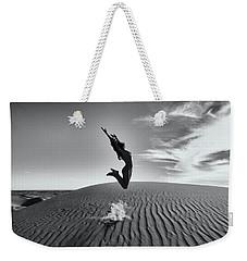 Sandy Dune Nude - The Jump Weekender Tote Bag
