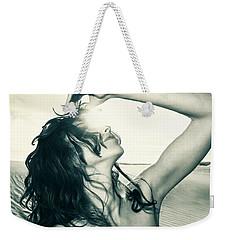 Sandy Dune Nude - The Woman Weekender Tote Bag