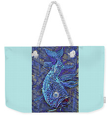 Sandy Fish Weekender Tote Bag
