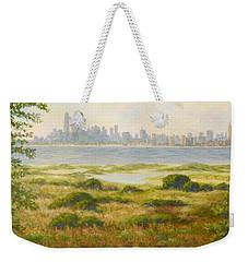 Sandy Hook View Weekender Tote Bag