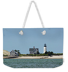 Sandy Neck Light Early June Weekender Tote Bag
