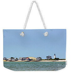 Sandy Neck Lighthouse Sea Livin Weekender Tote Bag