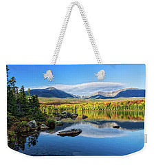 Sandy Stream Pond Baxter Sp Maine Weekender Tote Bag